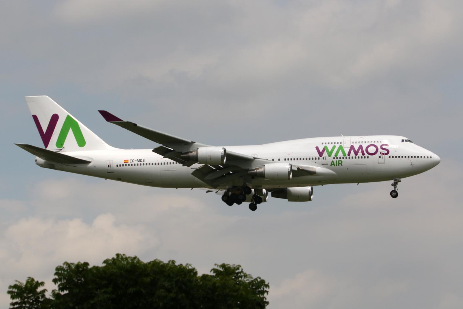 ワモス・エア|Wamos Air